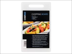 Chef Aid Chopping Board Polypropylene Chopping Board 25 x 15cm 10E10789