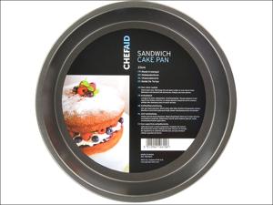 Chef Aid Sandwich Cake Tin Cake Pan With Fixed Base 10E10615