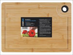 Chef Aid Chopping Board Bamboo Board 35 x 25 x 1.5cm 10E11059