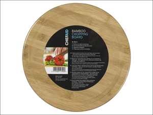 Chef Aid Chopping Board Bamboo Board Round 25cm 10E11395