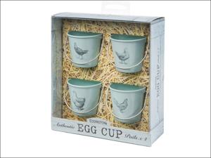 Eddingtons Egg Cup Egg Cup Pails Vintage Hens x 4 83021
