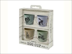 Eddingtons Egg Cup Egg Cup Pails Country Hare x 4 83032