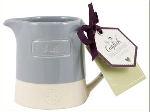 English Tableware Company Milk/ Water Jug Artisan Creamer Jug Blue DD0882A12