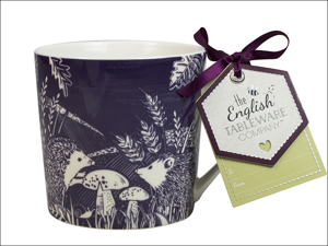 English Tableware Company Everyday Mugs Artisan China Mug Hedgehog DD0809D36