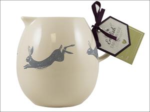 English Tableware Company Milk/ Water Jug Artisan Milk Jug Hare DD08CBA02
