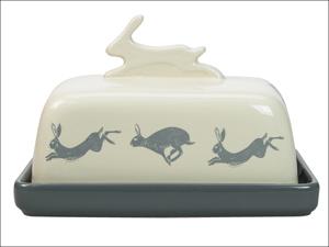 English Tableware Company Butter Dish Artisan Butter Dish Hare DD0817A02