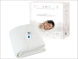 Dream Nite Under Blanket Multi-Zone Fleece Under Blanket Single DN47002