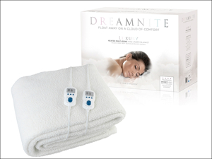 Dream Nite Under Blanket Multi-Zone Fleece Under Blanket King Size DN49002