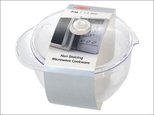 Easy Cook Microwave Jug Jug & Lid Clear NS690