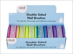 Elliott Nail Brush Double Sided Nail Brush Frost 10F00149