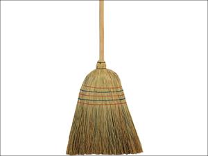 Elliott Complete Broom American Style Corn Broom & Handle 10F30112