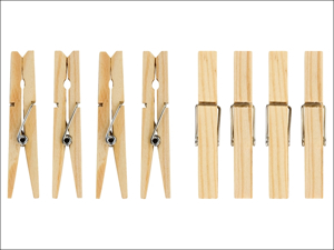 Elliott Clothes Pegs Pinewood Clothes Pegs x 36 10F30572
