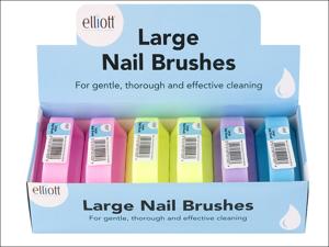 Elliott Nail Brush Large Nail Brush 10F00153