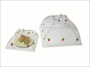 Epicurean Food Cover Food Umbrella Strawberry 48cm JN1154ST