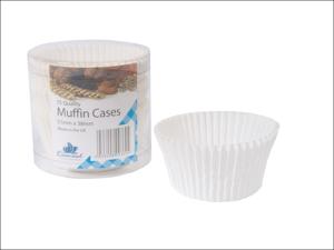 Essential Cake Case Muffin Cases White x 75 MUFF75/24