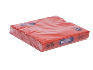 Essential Paper Napkins Napkins 3ply Red x 20 33RE17