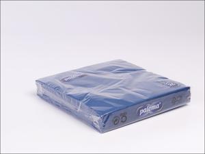 Essential Paper Napkins Napkins 3Ply 33cm Midnight Blue x 20 33MB17