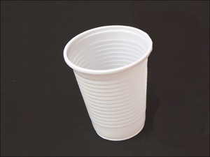 Essential Disposable Cups Plastic Cups White x 25 20CUP25