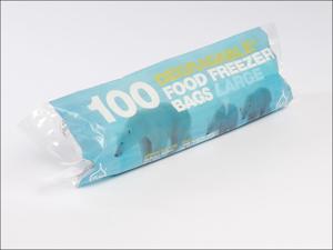 Essential Food/ Freezer Bag Tuffy Degradable Freezer Bags Large x 100 10852