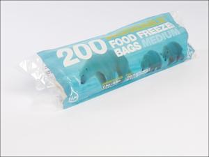 Essential Food/ Freezer Bag Tuffy Degradable Freezer Bags Medium x 200 10853
