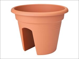 Elho Patio Planter Green Basics Flower Bridge Terracotta 30cm 68 023 530 752 00