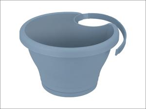 Elho Drainpipe Planter Corsica Drainpipe Click Vintage Blue 24cm 75 315 624 542 00