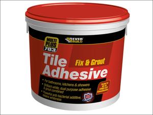 Everbuild Fix & Grout Tile 703 Fix & Grout Tile Adhesive 3.75kg
