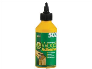 Everbuild Wood Adhesive 502 All Purpose Waterproof Wood Adhesive 250ml