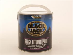 Everbuild Bitumen Paint 901 Black Bitumen Paint 5L