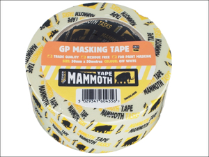 Everbuild Masking Tape Mammoth Retail Masking Tape 25mm x 25m