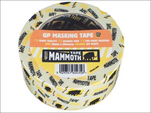 Everbuild Masking Tape Mammoth Retail Masking Tape 50mm x 50m