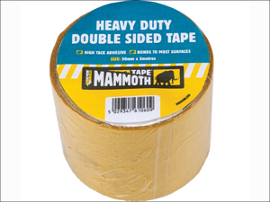 Everbuild Double Sided Tape Mammoth Heavy-Duty Double Sided Tape 50mm x 5m