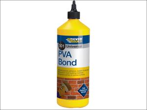 Everbuild Multi Purpose Adhesive 501 PVA Bond 1L