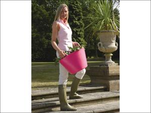 Gorilla Tubs Garden Tub Tub Trug Pink Large 38L SP42PK