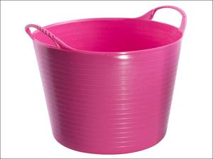 Gorilla Tubs Garden Tub Tub Trug Pink Small SP14PK