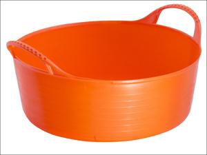 Gorilla Tubs Garden Tub Tub Trug Shallow Orange 15L SP15O