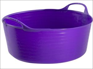 Gorilla Tubs Garden Tub Tub Trug Shallow Purple 15L SP15P