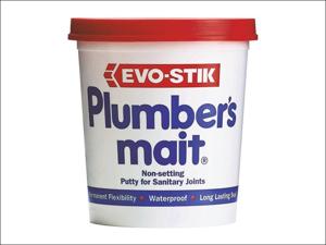 Evo-stik Silicone Sealant Plumbers Mait Non Setting Putty Off White 750g