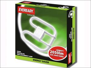 Energizer Energy Saving Light Bulb Energy Saving 2D Lamp 4Pin 28W