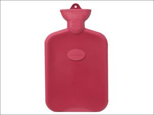 Coronation Hot Water Bottle Hot Water Bottle Single Ribbed 2L Assorted PR408