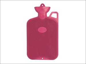 Coronation Hot Water Bottle Hot Water Bottle & Handle Single Ribbed 2L Assorted PR406