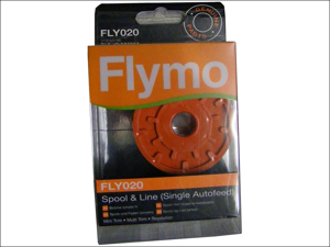 Flymo Strimmer Spares Single Spool & Line (Flymo20) HP-201