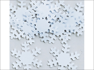 Anniversary House Table Confetti Confetti Snowflake Shaped PC02020