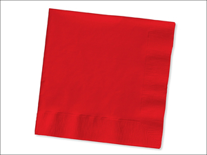 Anniversary House Paper Napkins Lunch Napkins 2Ply Red x 20 PC523548