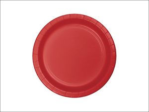 Anniversary House Disposable Plates Value Paper Plates Red x 8 PC553548