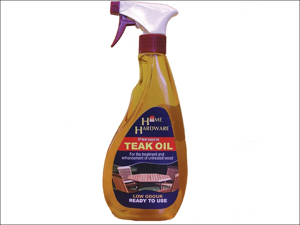 Home DIY (Paint Brushes) Teak Oil Teak Oil Trigger Spray 500ml