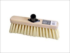 Hills Brush Broom Head Sweeping Broom Cream PVC + Socket Soft 290mm VR19