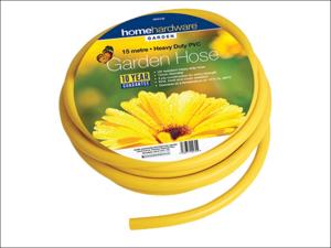 Home Gardener Hose Pipe Reinforced Hose Yellow 50m