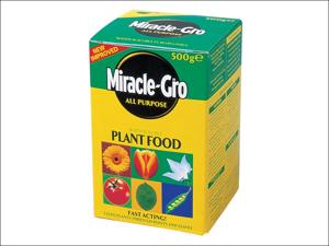 Miracle Multi Purpose Fertiliser Miracle-Gro All Purpose Plant Food 500g