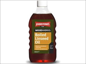 Johnstone's Paint Linseed Oil Woodworks Boiled Linseed Oil 500ml